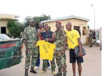 Some of the young rebels of Leopard Company