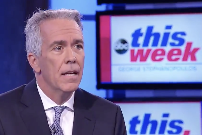 Former Rep. Joe Walsh appears on ABC's This Week on Aug. 25, 2019.