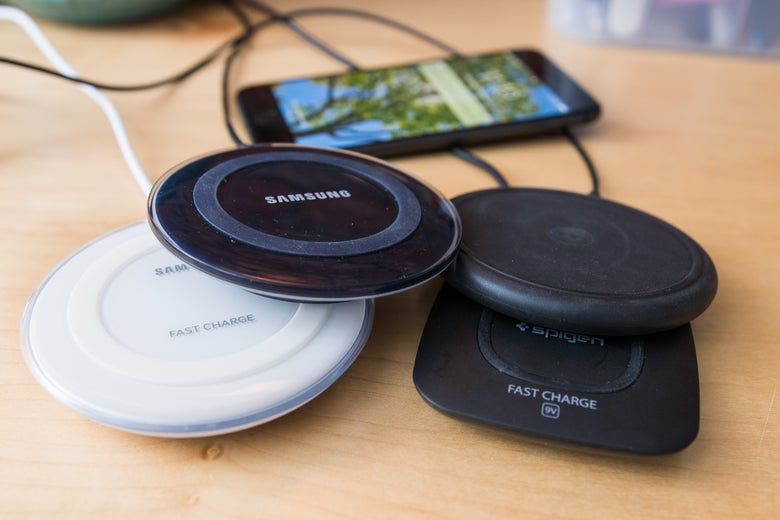 Assortment of Qi chargers