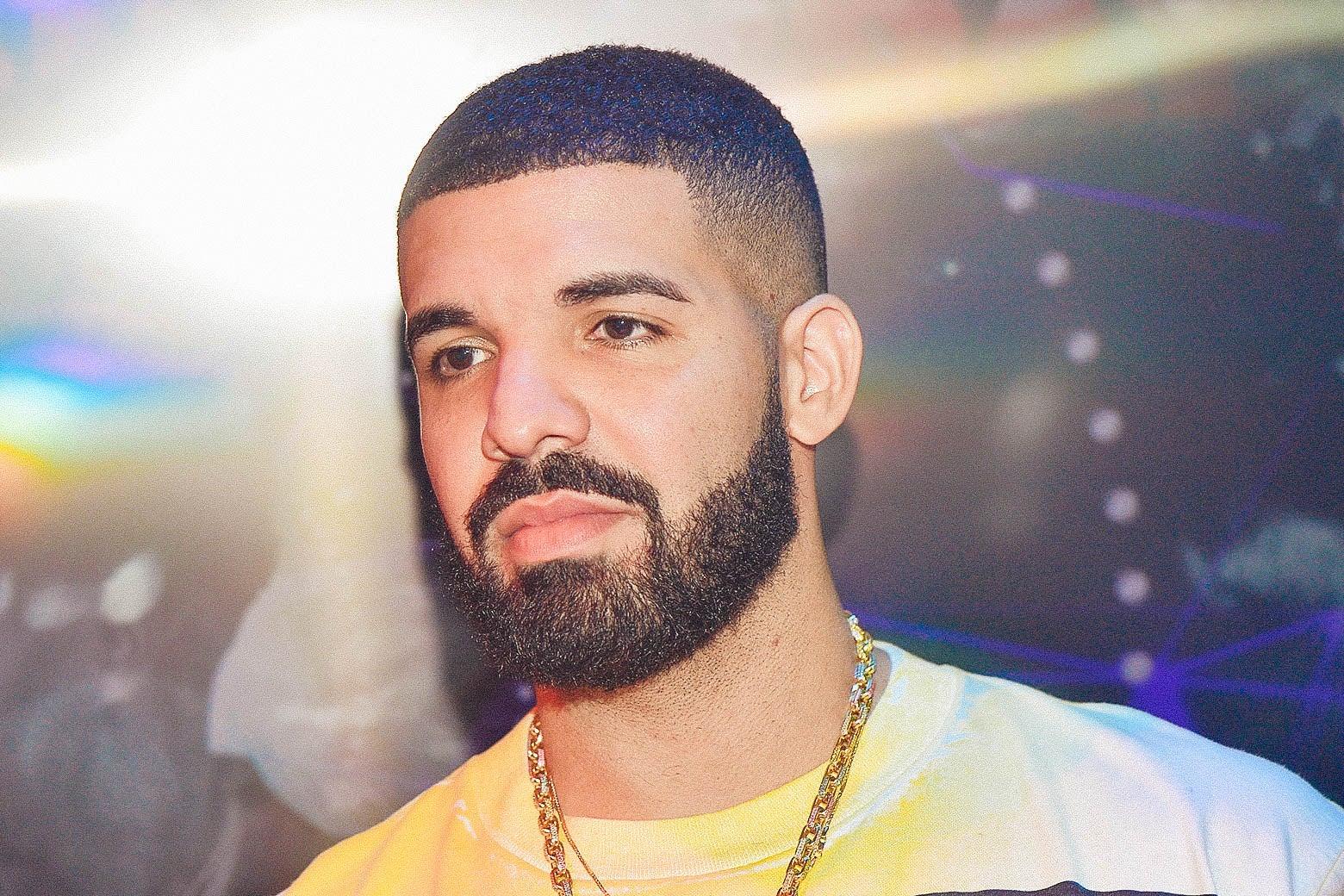 Drake in Atlanta, Georgia on May 7, 2018.