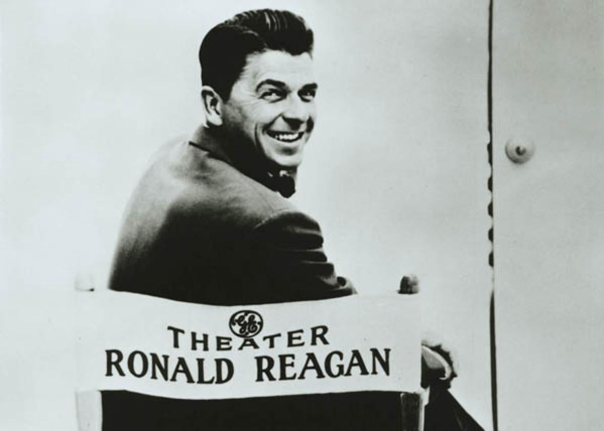 Ronald Reagan and General Electric Theater, 1954-62.