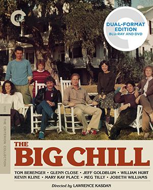 The Big Chill, Criterion Collection.