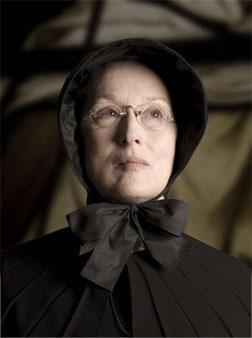 Meryl Streep as Sister Aloysius in Doubt.