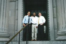 Michael Banks, John Thompson and Gordon Cooney. Click image to expand.