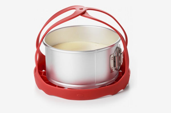 OXO Good Grips Silicone Pressure Cooker Baking Sling in Red.