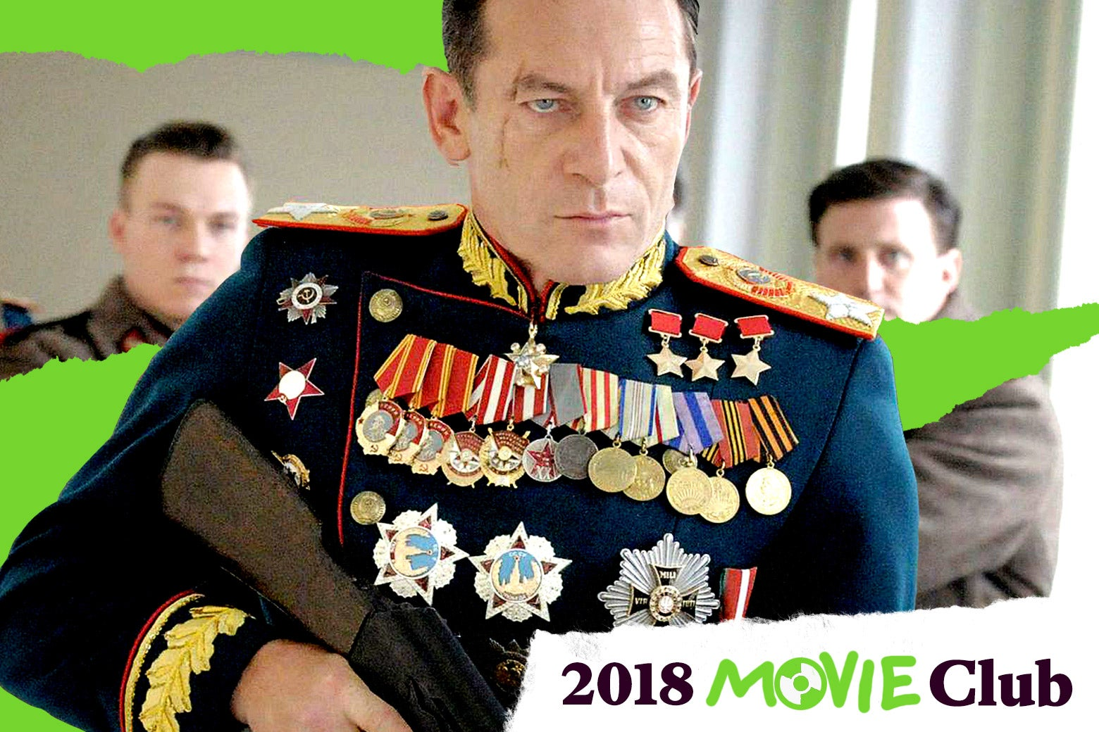 Jason Isaacs in The Death of Stalin.