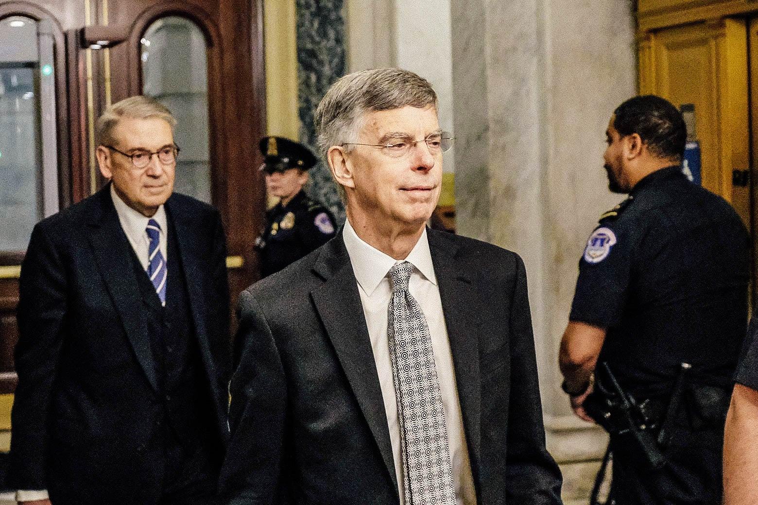 slate.com - William Saletan - Taylor's Testimony Goes Way Beyond Quid Pro Quo