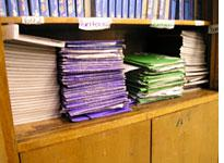The students' journals