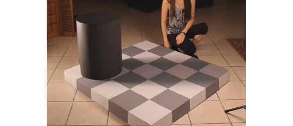 checkerboard illusion