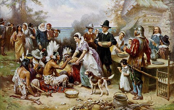 The first Thanksgiving, socialism