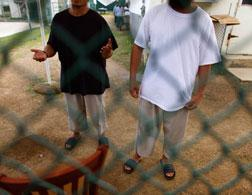 Uighurs in Guantanamo. Click image to expand.