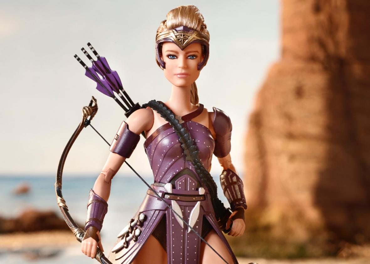 Barbie Wonder Woman Paradise Island Steve Trevor Ken Doll Outfit Flight Suit NEW