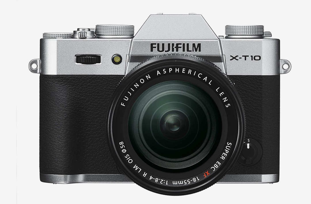 Fujifilm X-T10 camera.