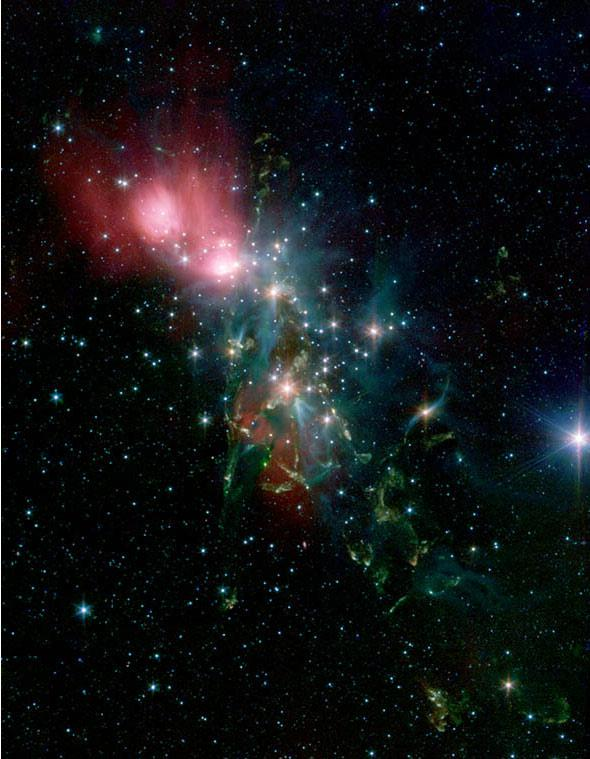 NGC 1333 in the Infrared