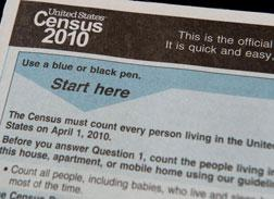 Census form.