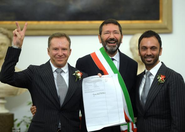 ITALY AND GAY MARRIAGE