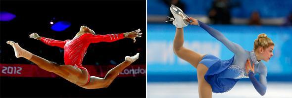 Gabrielle Douglas Gracie Gold Sochi Winter Olympics.
