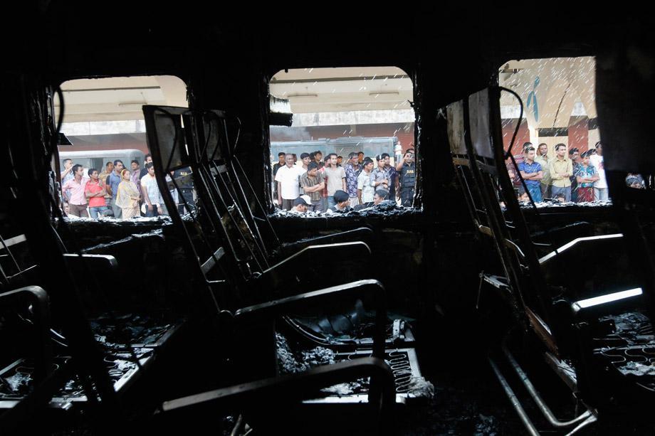 Kamlapur Railway Station in Dhaka March 4, 2013.