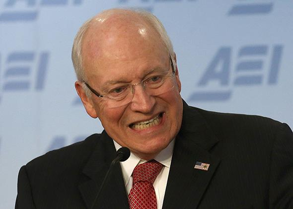 Dick Cheney Hawkish.