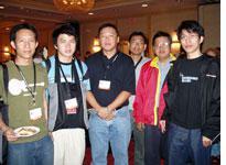 The Thai contingent