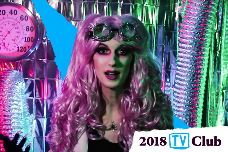 Screenshot of ContraPoints with TV club logo