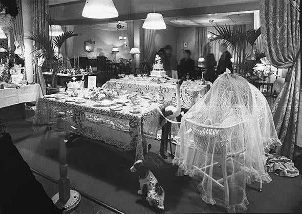 Table setting exhibition, September 1941.