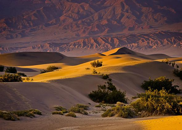 Death Valley is a desert located within the Mojave Desert in the southwestern US.