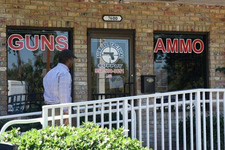 19-year-old Nikolas Cruz bought his AR-15 at the Sunrise Tactical Supply store in Florida.
