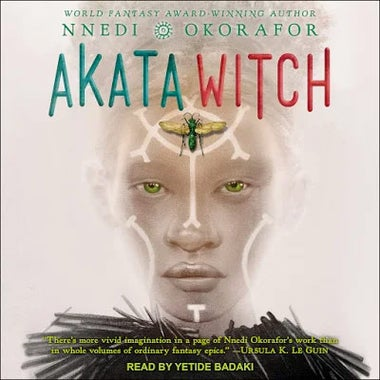 Akata Witch audiobook cover.