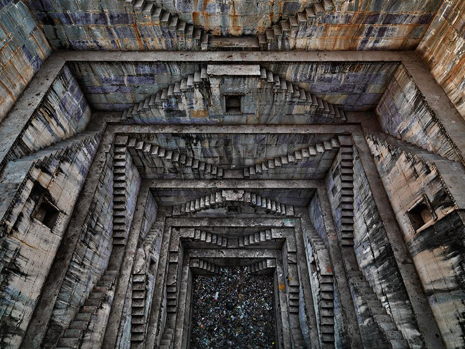 Stepwell #4, Sagar Kund Baori, Bundi, Rajasthan, India 2010