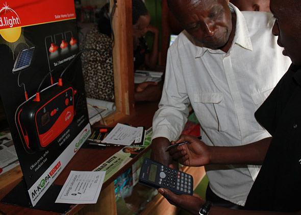 M-KOPA Solar in Kenya.