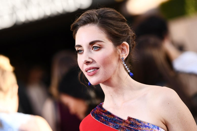 LOS ANGELES, CA - JANUARY 21:  Actor Alison Brie attends the 24th Annual Screen Actors Guild Awards at The Shrine Auditorium on January 21, 2018 in Los Angeles, California. 27522_011  (Photo by Emma McIntyre/Getty Images for Turner Image)