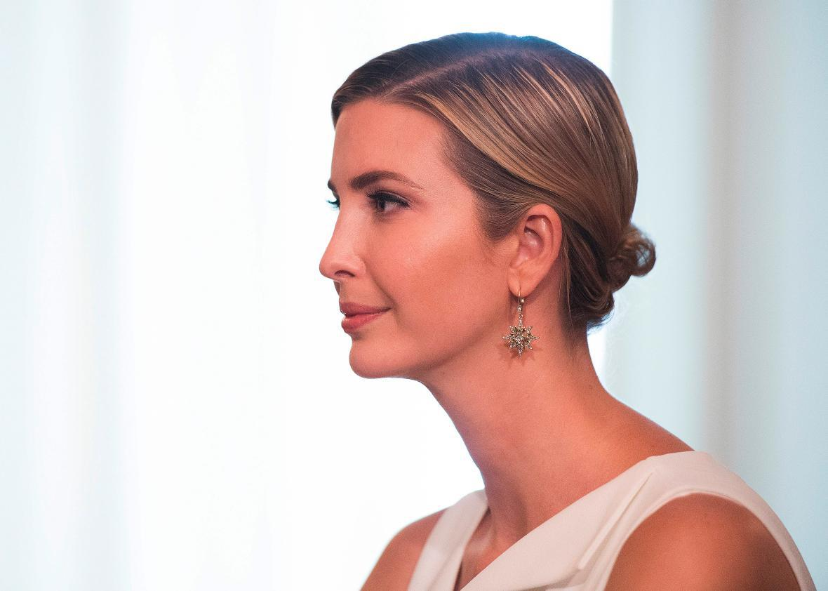 Ivanka Trump finally tells the truth: She cares more about
