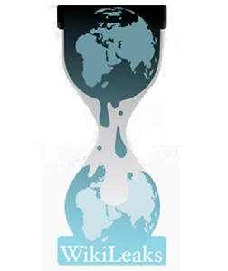 WikiLeaks logo. Click image to expand.