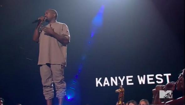 Kanye West VMAs