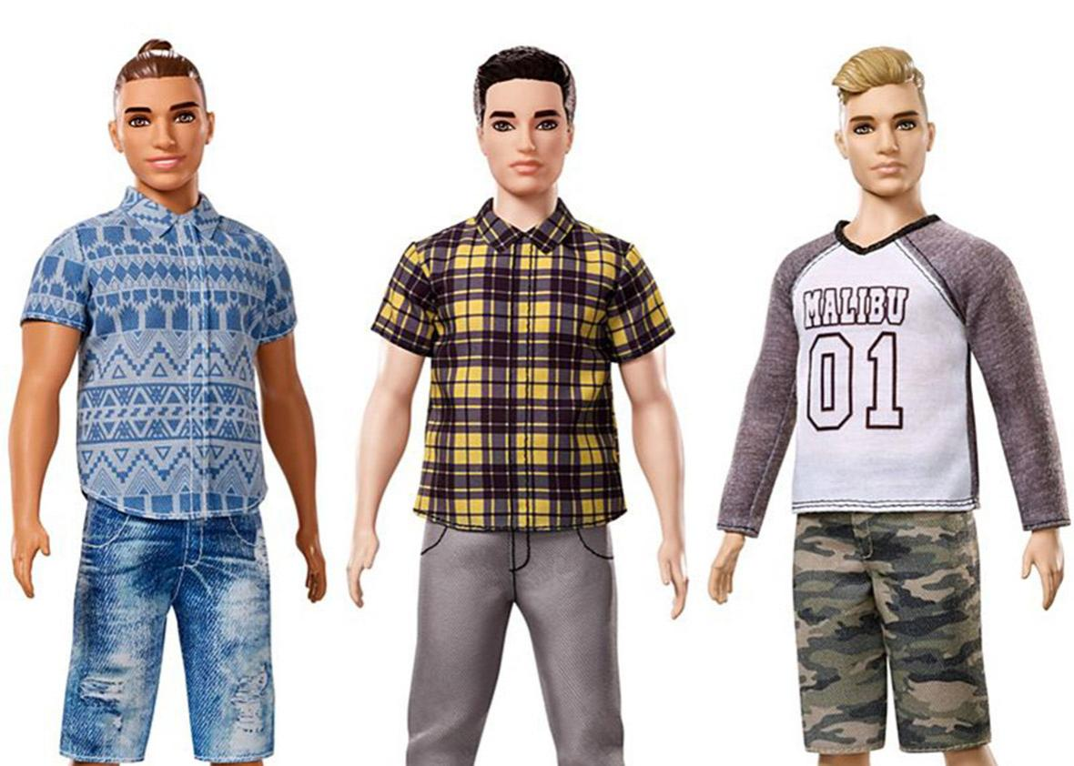 a5af808d The new Ken doll body types give us a moment to consider society's weird  expectations on men's bodies.