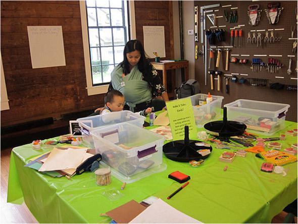 Maker Space in Fayetteville, NY.