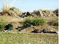 Four of the 30 Iraqis the Marines killed during the ambush