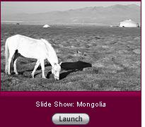 Click here to launch a slide show on Mongolia.