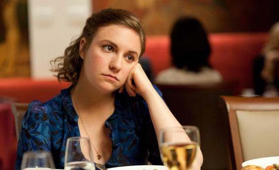 Lena Dunham in Girls