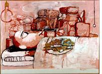 Painting, Smoking, Eating, 1973