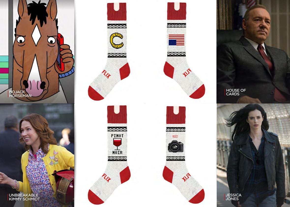 Netflix Socks.