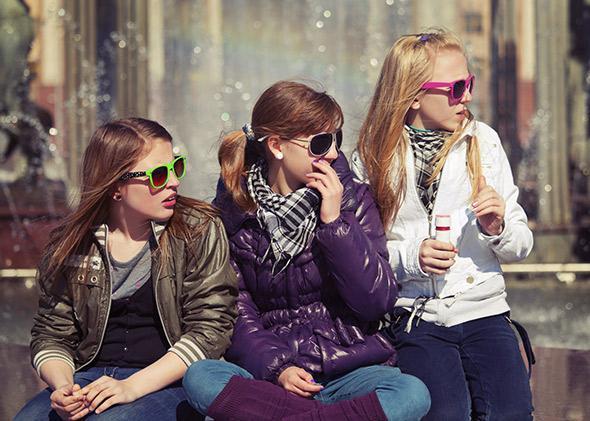 popular girls.