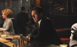 Don Draper (Jon Hamm) retreats to the bar