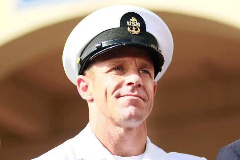 Navy SEAL Edward Gallagher on July 2 in San Diego.
