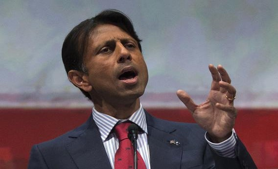 Louisiana Governor Bobby Jindal speaks at the NRA-ILA Leadership Forum at the George R. Brown Convention Center, the site for the National Rifle Association's annual meeting in Houston, Texas May 3, 2013.