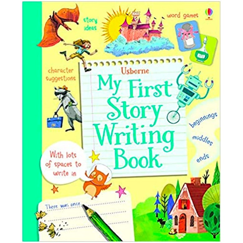 My First Story Writing Book.