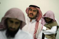 Young Saudi men released from the US Guantanamo Bay. Click image to expand.