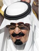 Saudi King Abdullah. Click image to expand.