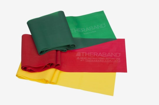 TheraBand Resistance Bands Set.